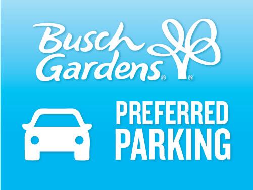 Busch Gardens Williamsburg Preferred 1-Day Parking