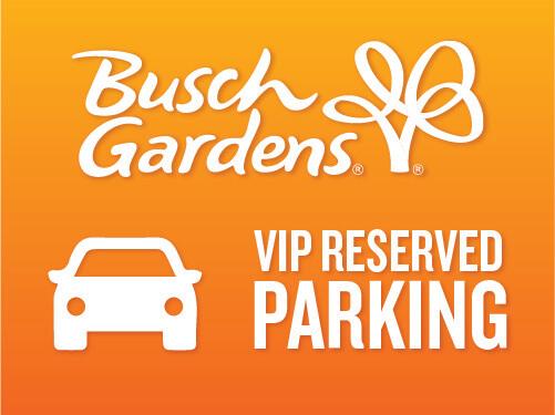 Busch Gardens Williamsburg VIP Reserved 1-Day Parking