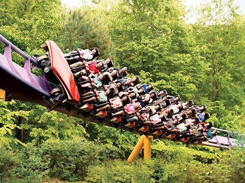 Busch Gardens Williamsburg Apollo's Chariot 1-Time Quick Queue