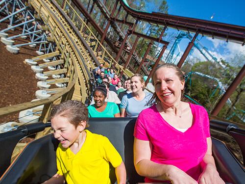 Busch Gardens Williamsburg InvadR 1-Time Quick Queue