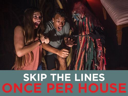Busch Gardens Williamsburg Howl-O-Scream Haunted House Quick Queue