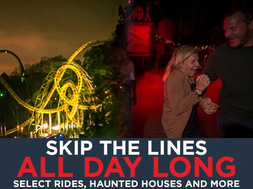 Busch Gardens Williamsburg Howl-O-Scream Quick Queue Unlimited Plus
