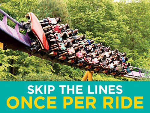 Get to the rides faster with Busch Gardens Williamsburg Quick Queue.