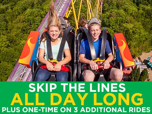 Busch Gardens Williamsburg Quick Queue Unlimited Plus
