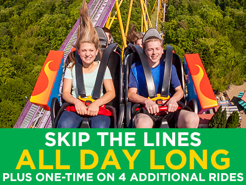 Get to the thrills faster with Busch Gardens Williamsburg Quick Queue Premier