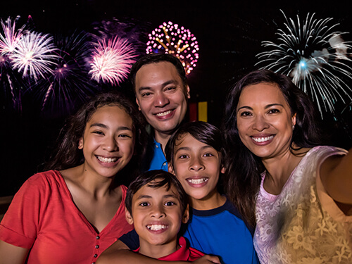 Busch Gardens Williamsburg Fireworks Exclusive