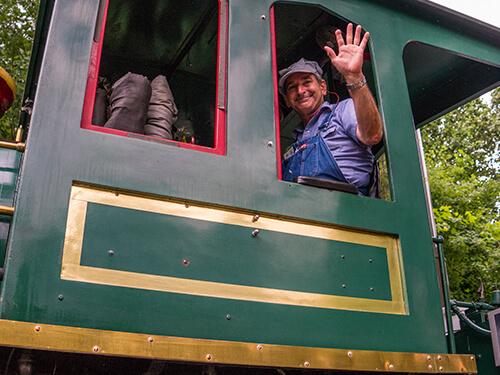 Busch Gardens Williamsburg Railroad Tour