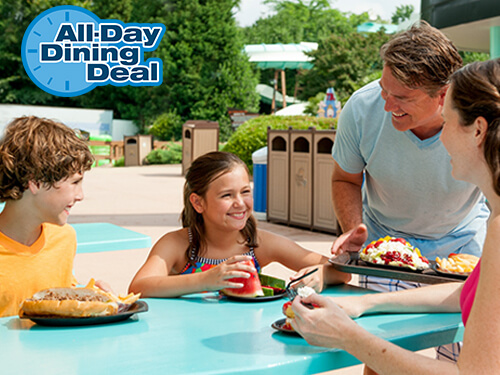 Water Country USA All Day Dining