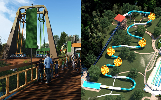 Two new attractions coming to Busch Gardens and Water Country USA in 2019