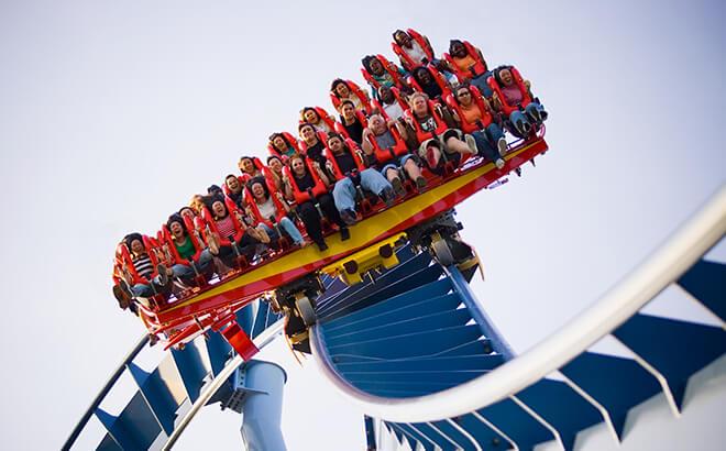 Griffon roller coaster