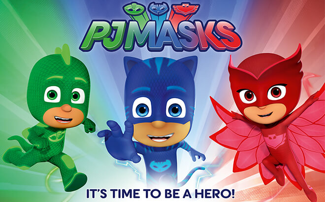 PJ Masks to visit Busch Gardens Williamsburg