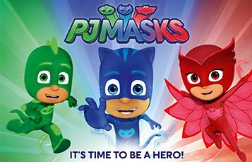 PJ Masks to visit Busch Gardens Williamsburg
