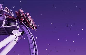 Summer Nights Griffon coaster