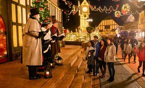 Busch Gardens Williamsburg Christmas Town