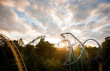 Busch Gardens coasters