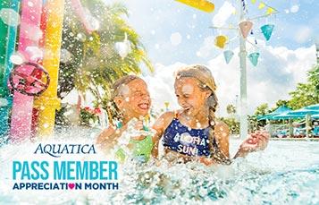 Pass Member Appreciation Month at Aquatica Orlando