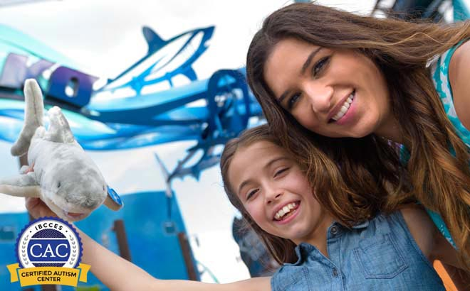 SeaWorld Orlando is a Certified Autism Center